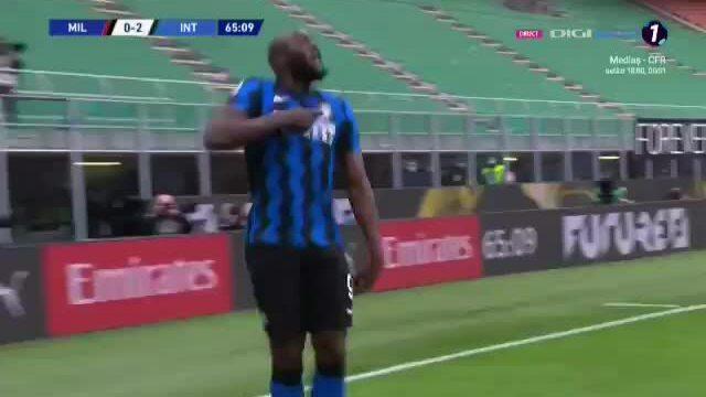 Lukaku memprovokasi Ibrahimovic