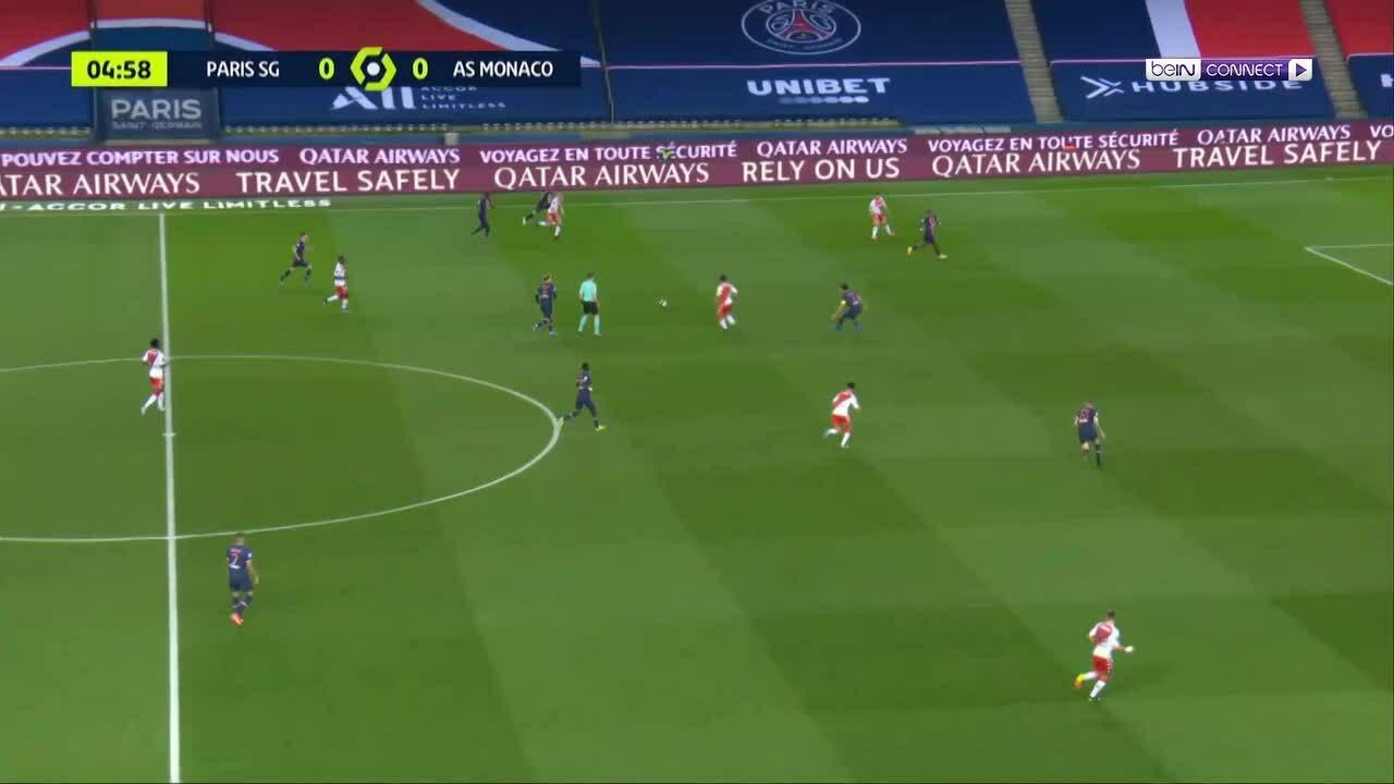 PSG 0-2 Monaco