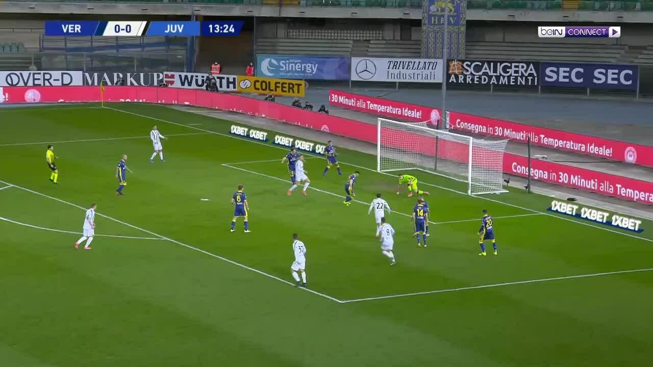 Hellas Verona 1-1 Juventus
