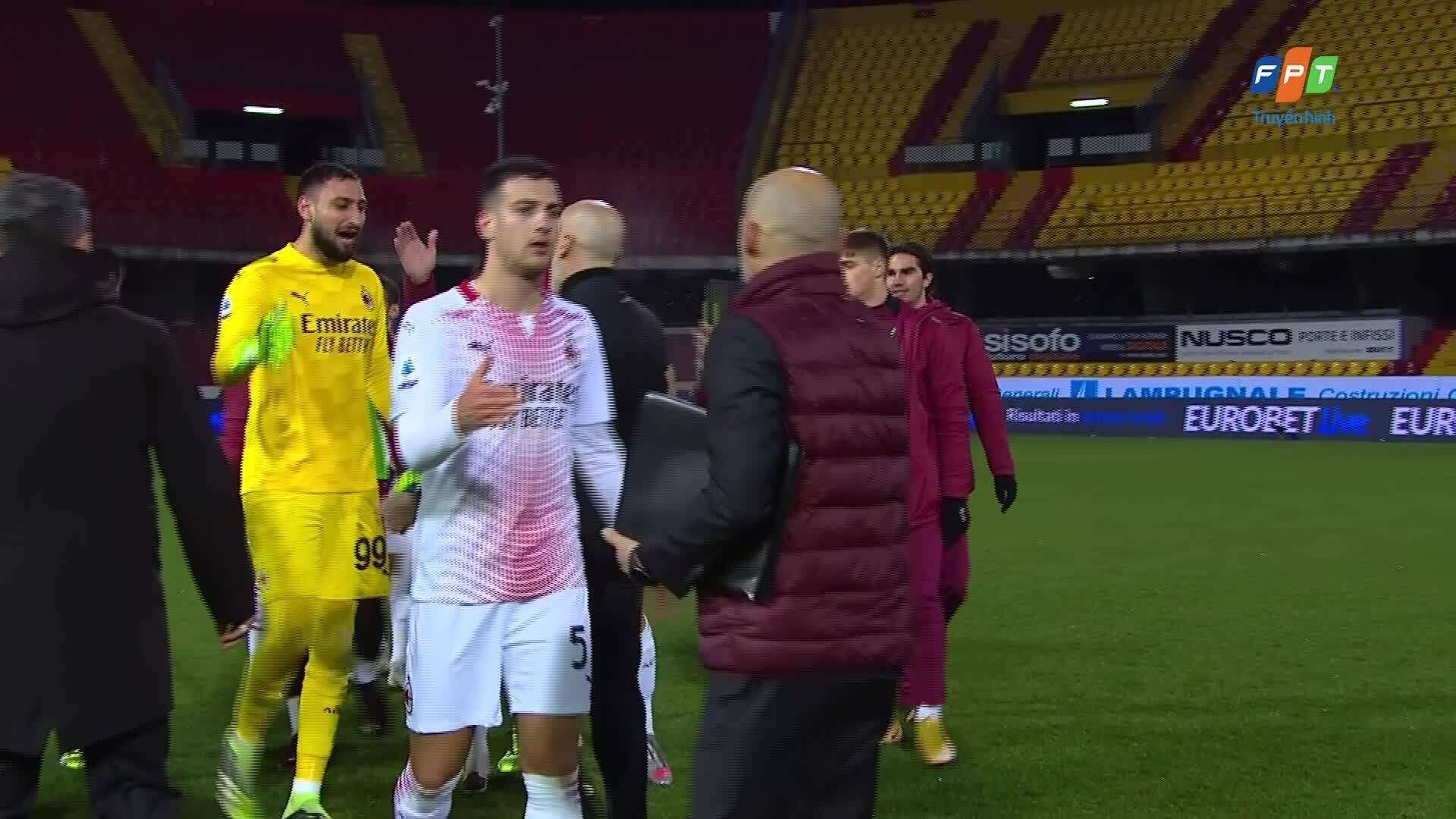 Benevento 0-2 Milan