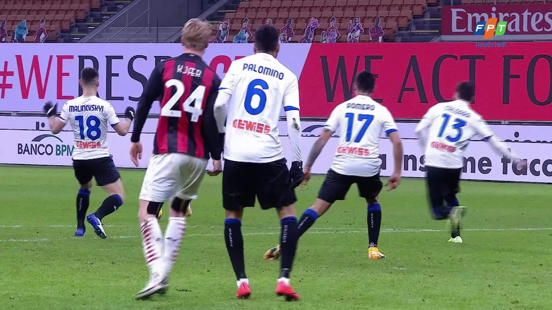 Milan 0-3 Atalanta