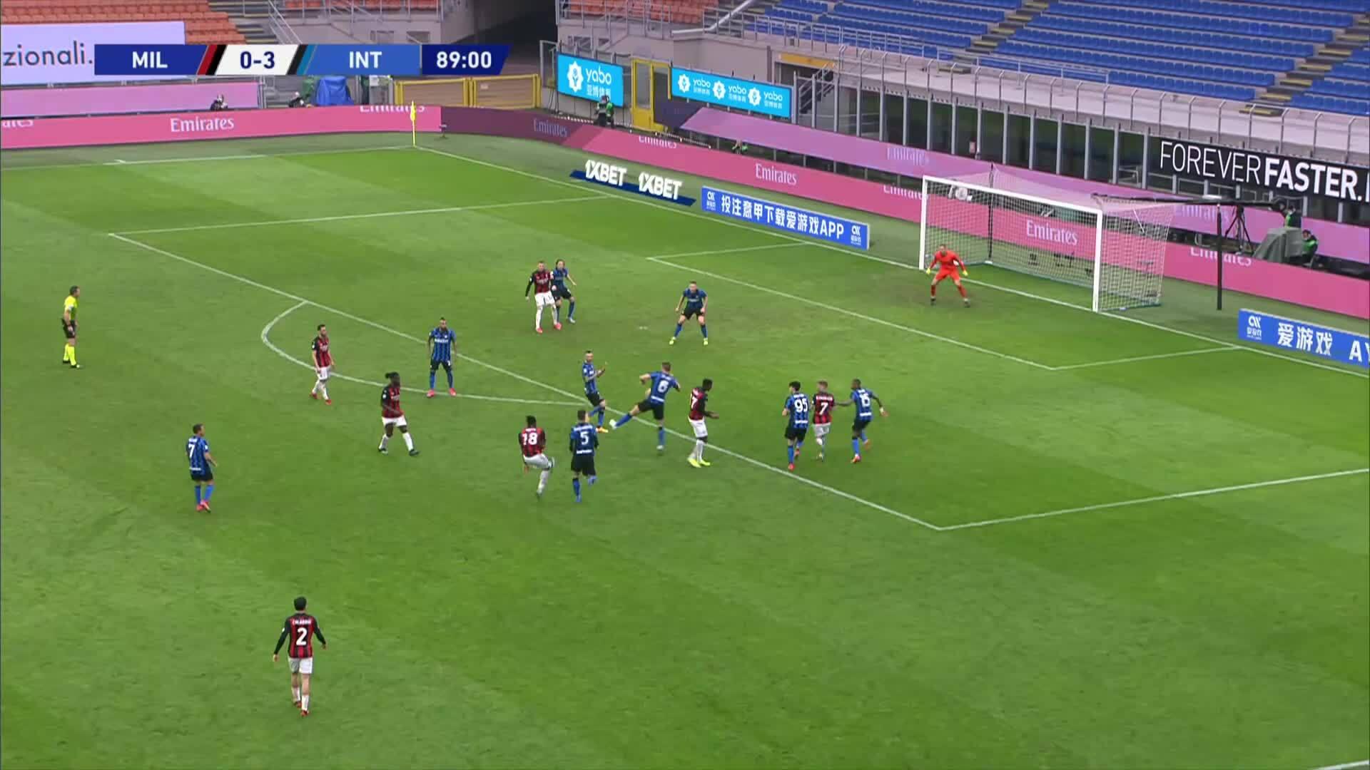 Milan 0-3 Inter