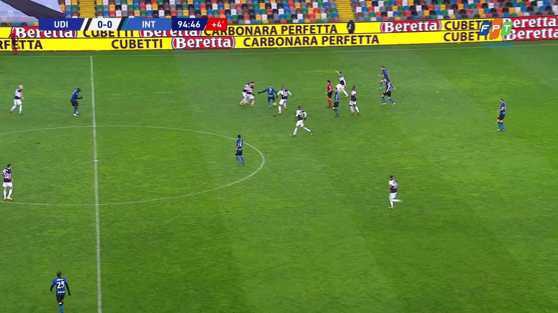 Udinese 0-0 Inter