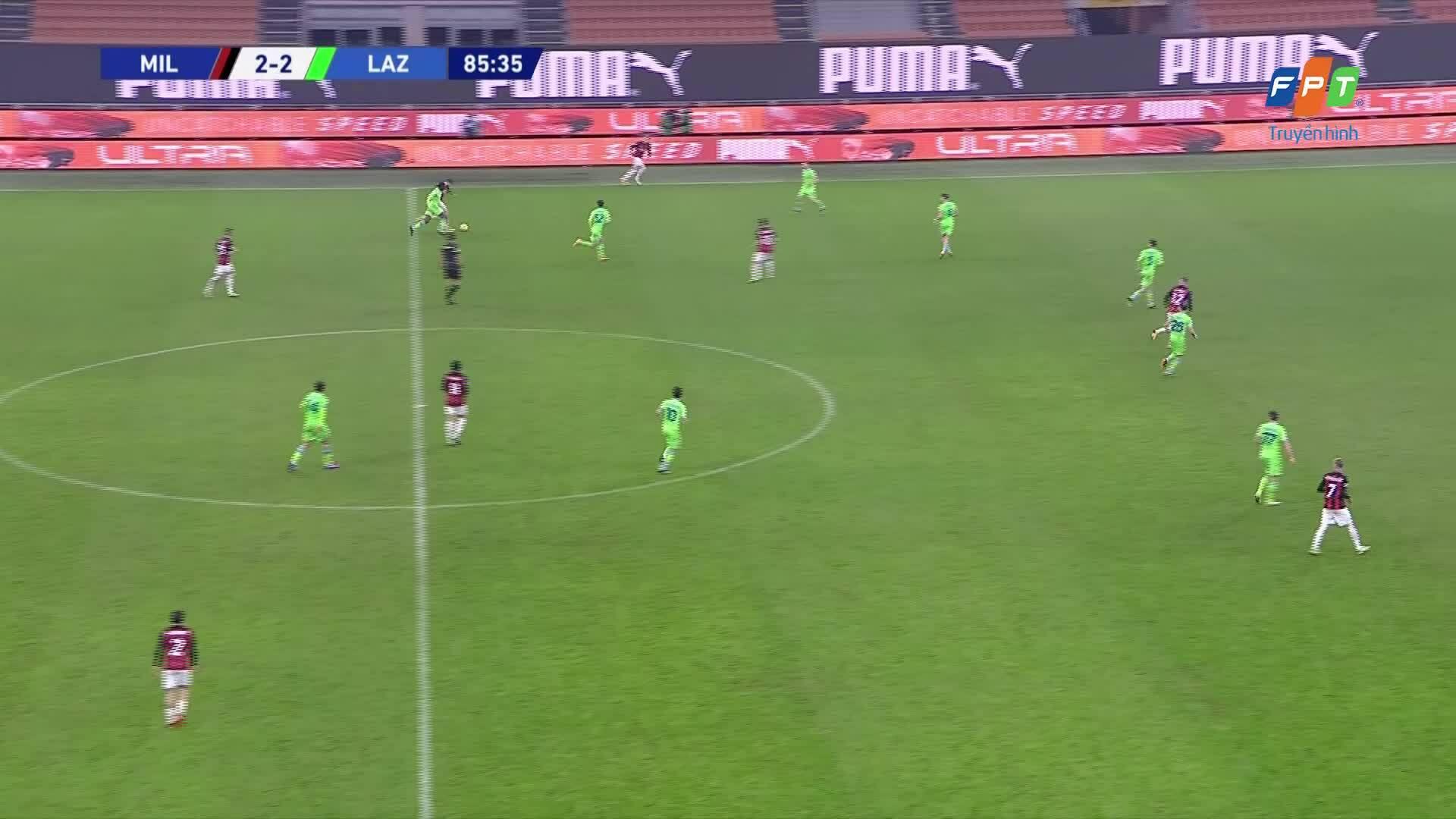 AC Milan 3-2 Lazio