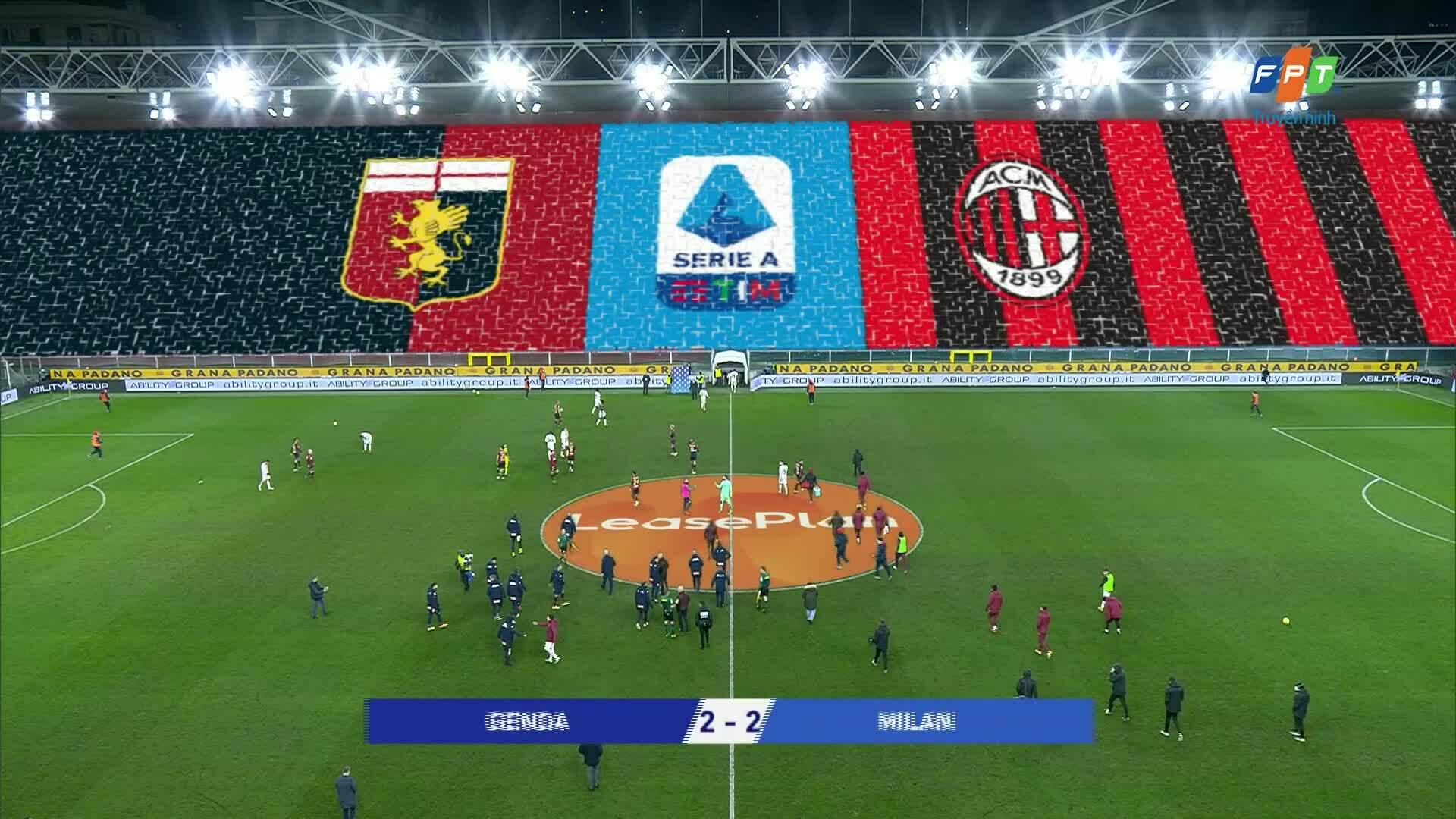 Genoa 2-2 Milan