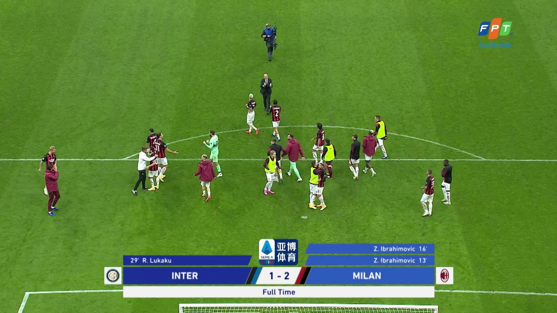 Inter Milan 1-2 AC Milan
