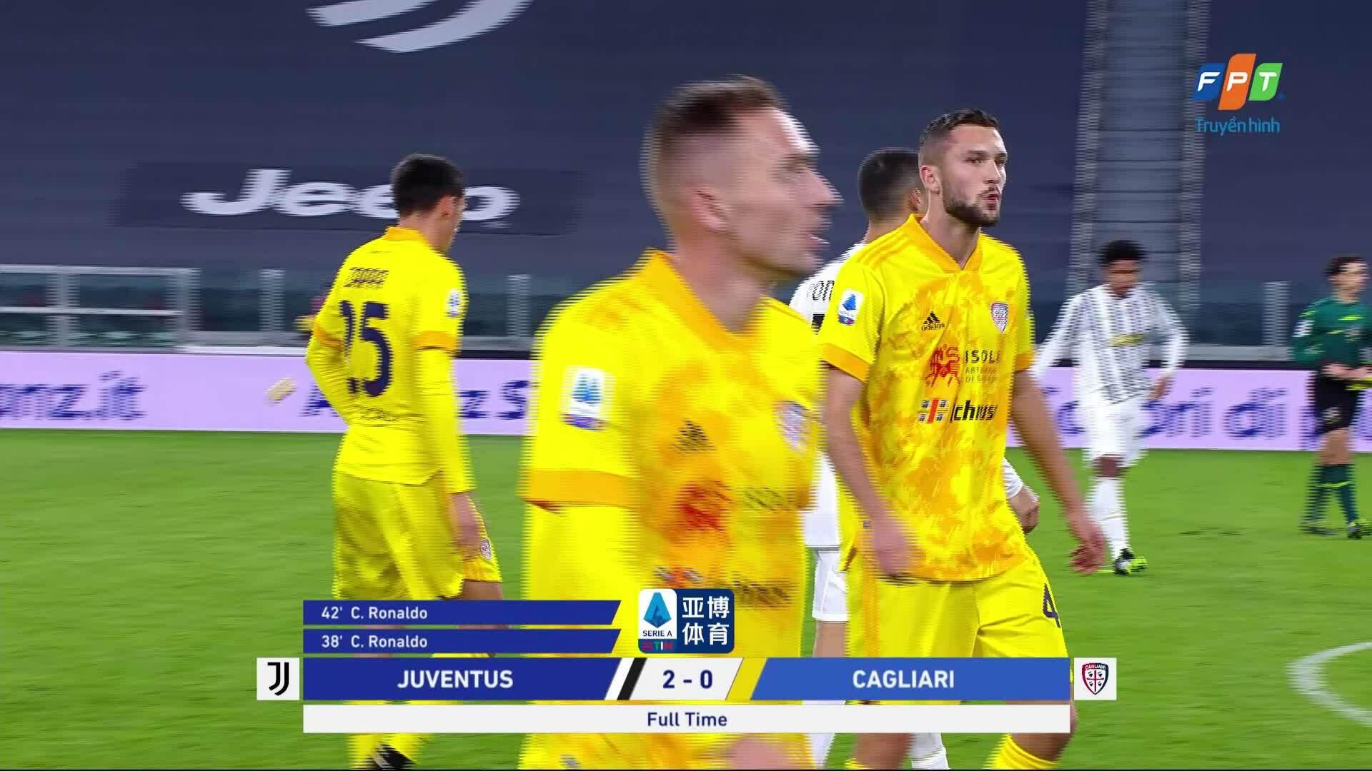 Juventus 2-0 Cagliari