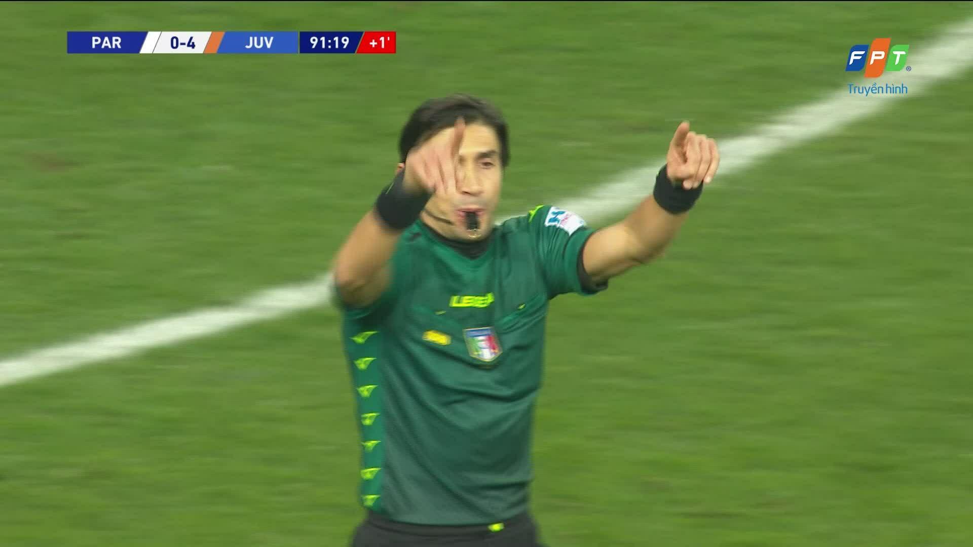 Parma 0-4 Juventus