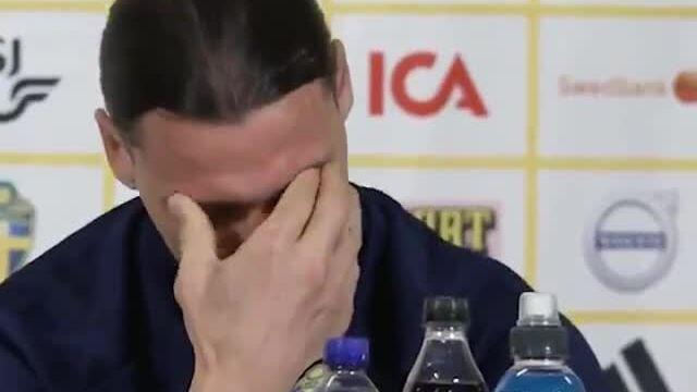 Ibrahimovic menangis