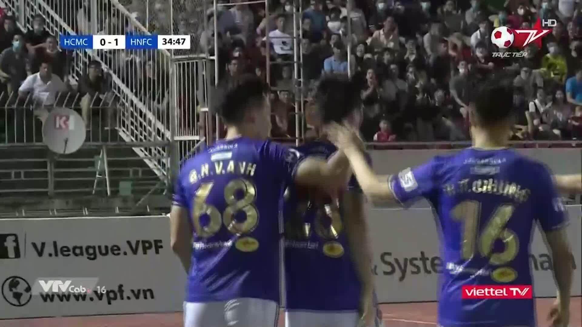 Kota Ho Chi Minh 0-3 Hanoi