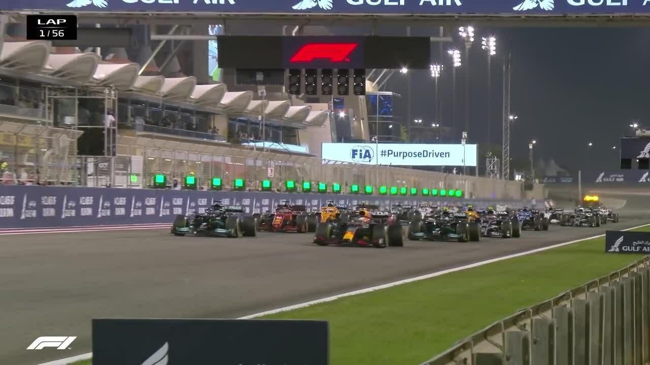 Diễn biến chính Grand Prix Bahrain 2021