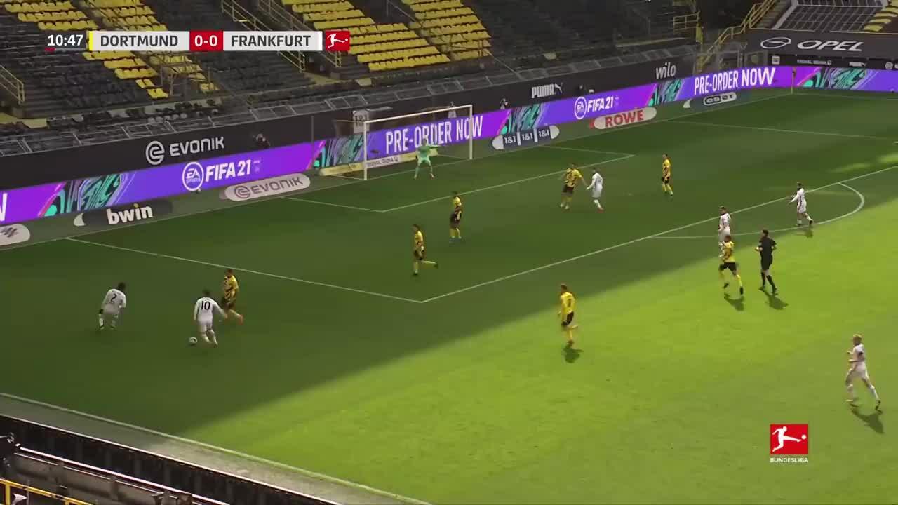 Dortmund 1-2 Frankfurt
