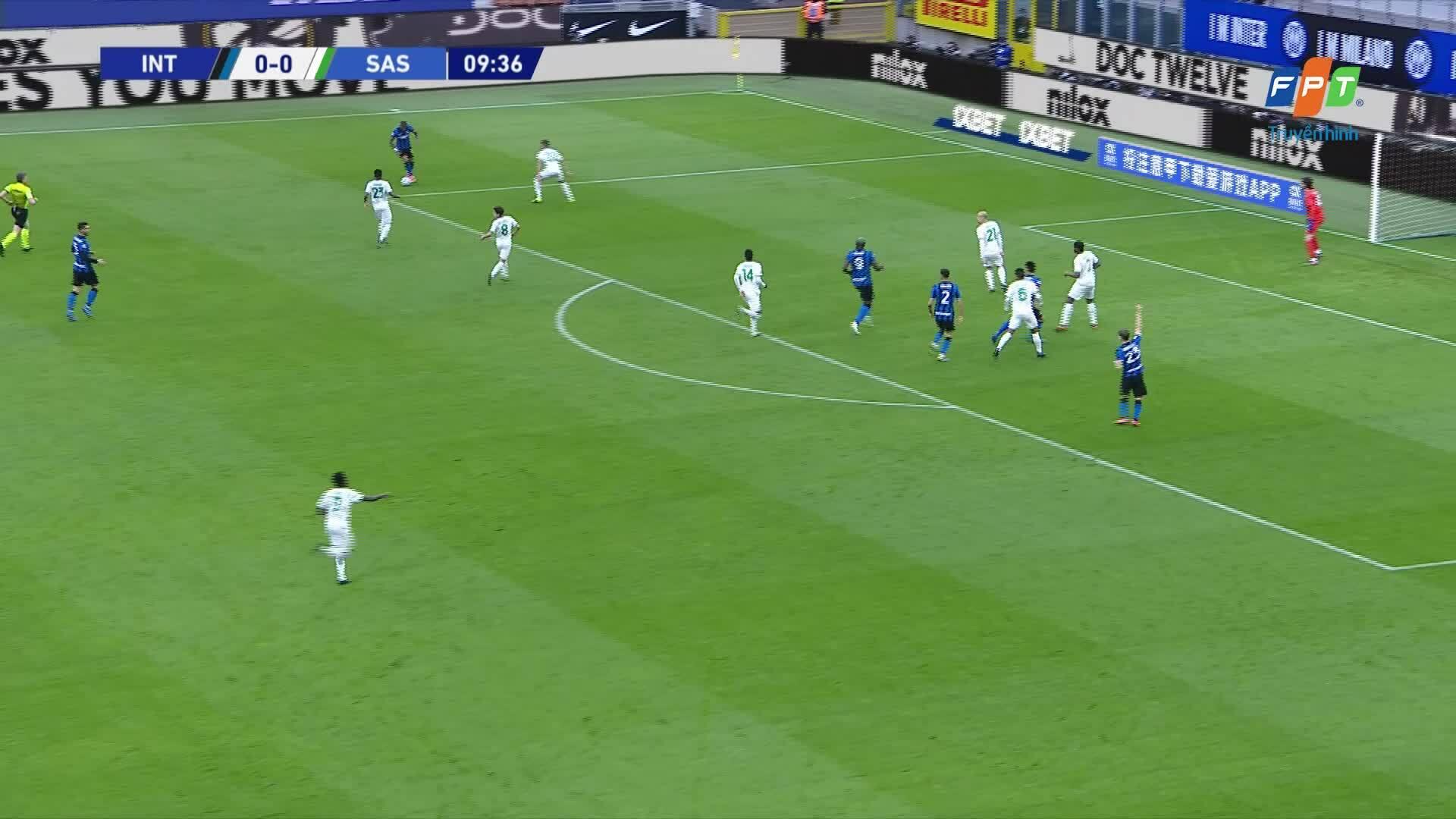 Inter 2-1 Sassuolo