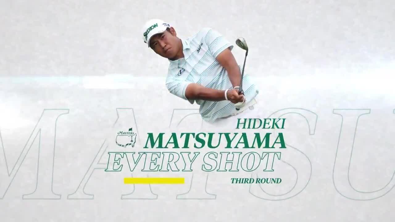 Matsuyama đánh 65 gậy ở vòng ba Masters 2021