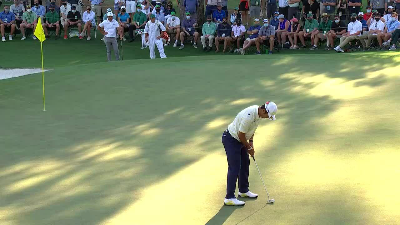 Hideki Matsuyama - Hole 16 round 4