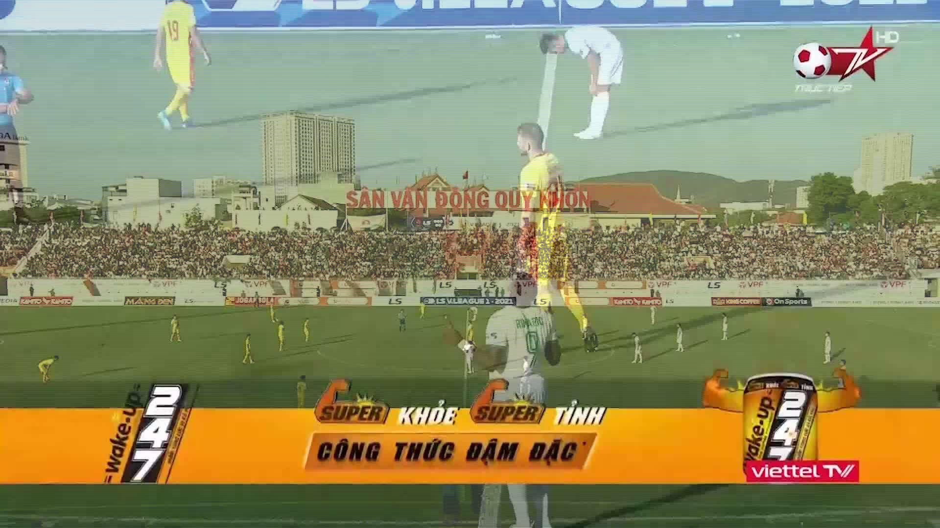 Bình Định 0-1 Thanh Hóa
