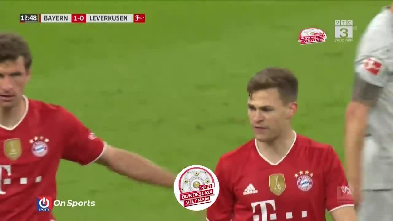 Bayern 2-0 Leverkusen