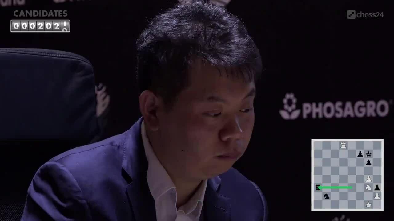 Vuong Hao kaget saat dia menyerah lebih awal di Kandidat