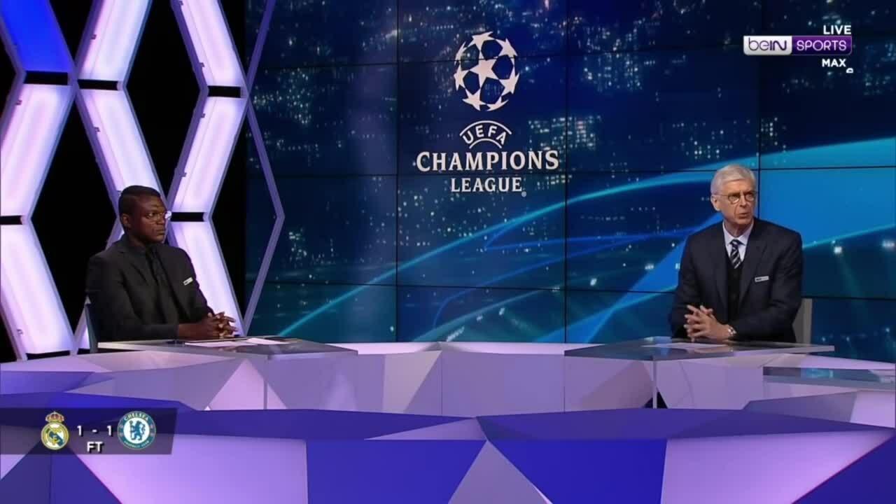 Wenger khawatir Chelsea akan mengalami masalah psikologis pada leg kedua bersama Real