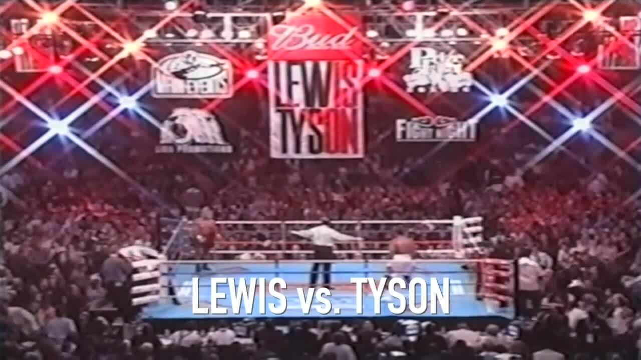Lennox Lewis won Mike Tyson's knockout knockout in 2002