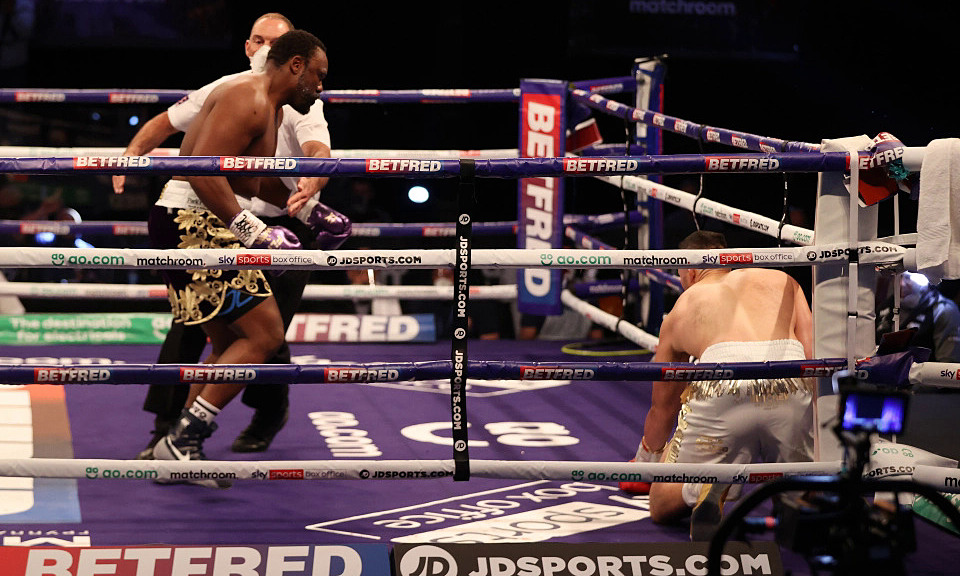 Chisora ​​beat Parker in the seventh second