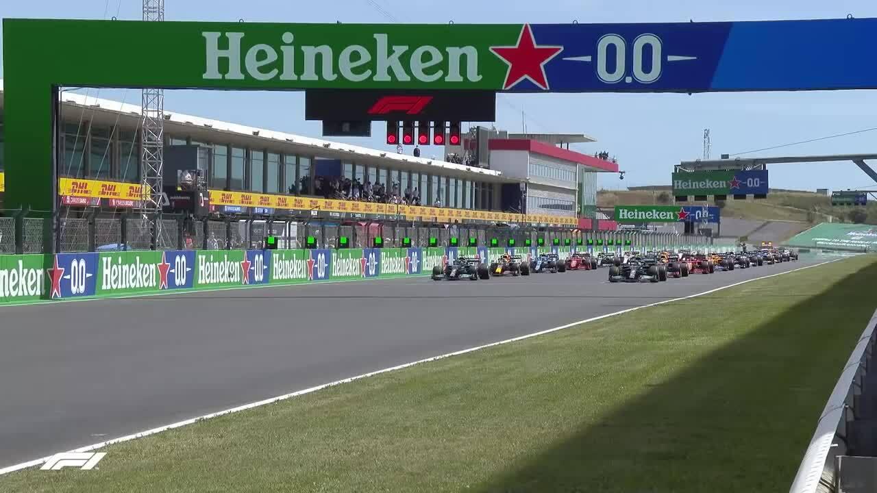 Lewis Hamilton memenangkan blok Grand Prix Portugis
