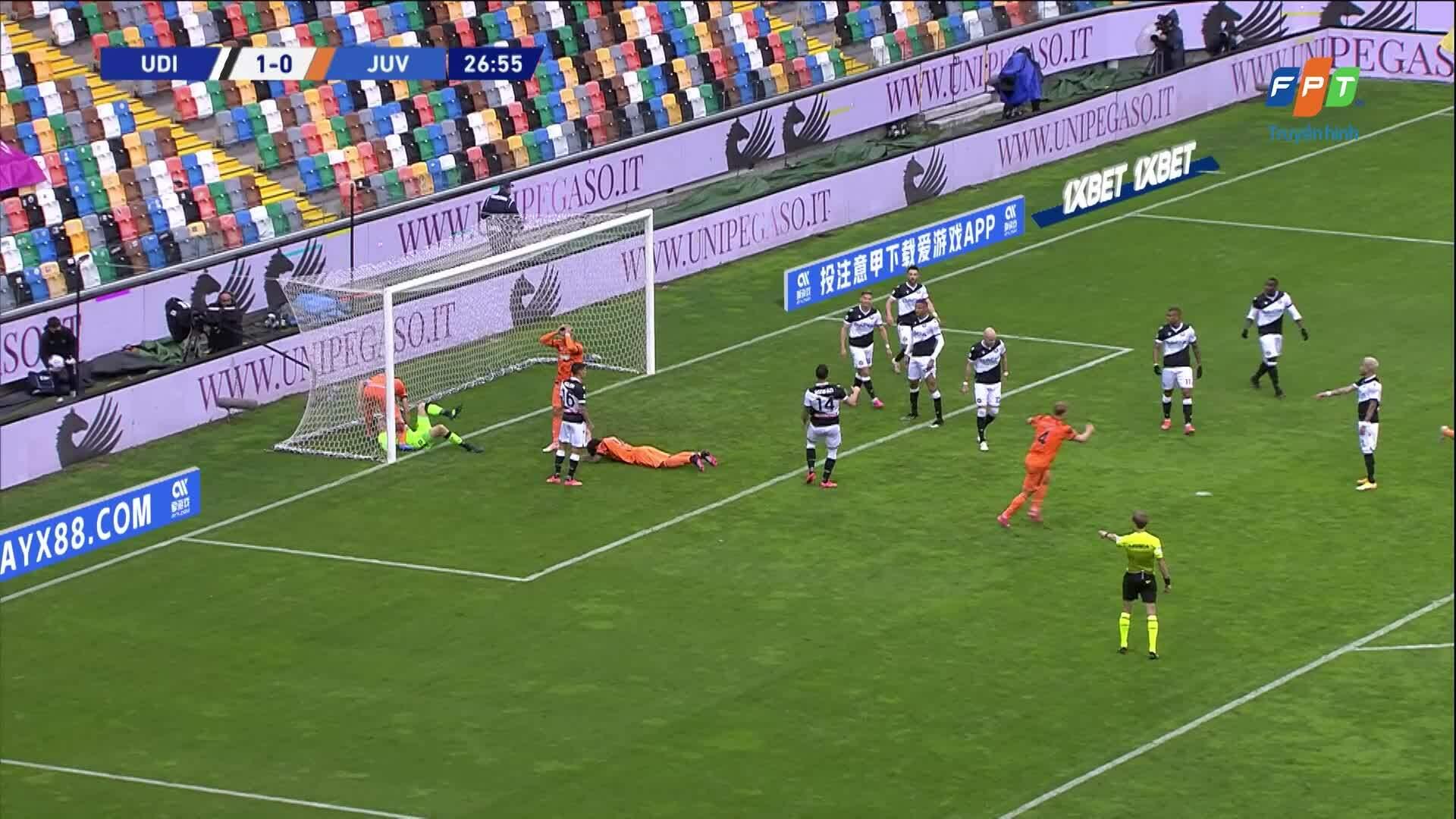 Udinese 1-2 Juventus