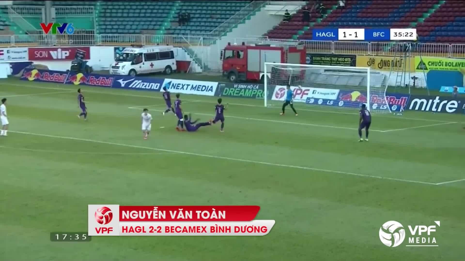 Top 10 bàn thắng đẹp Vòng 12 V-League