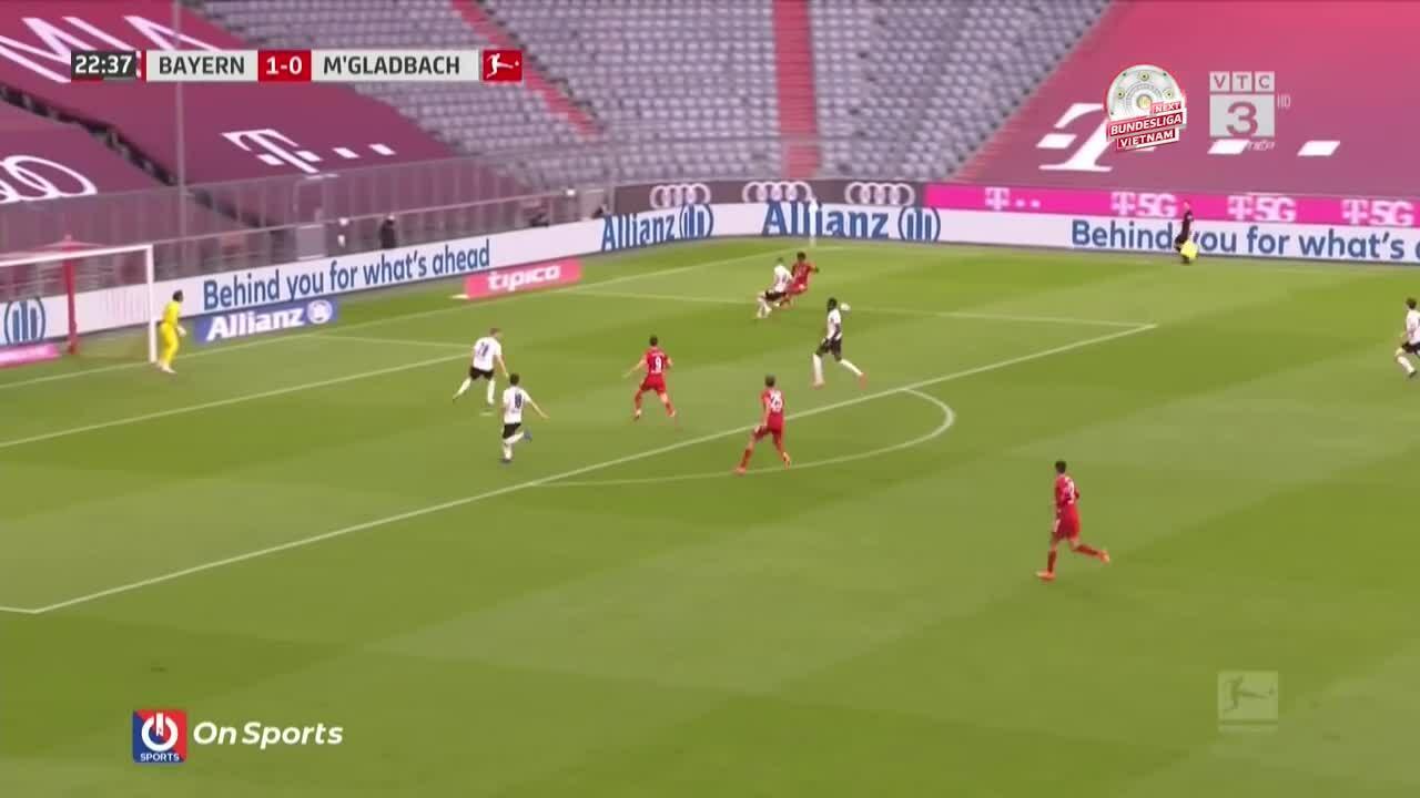 Bayern 6-0 Gladbach