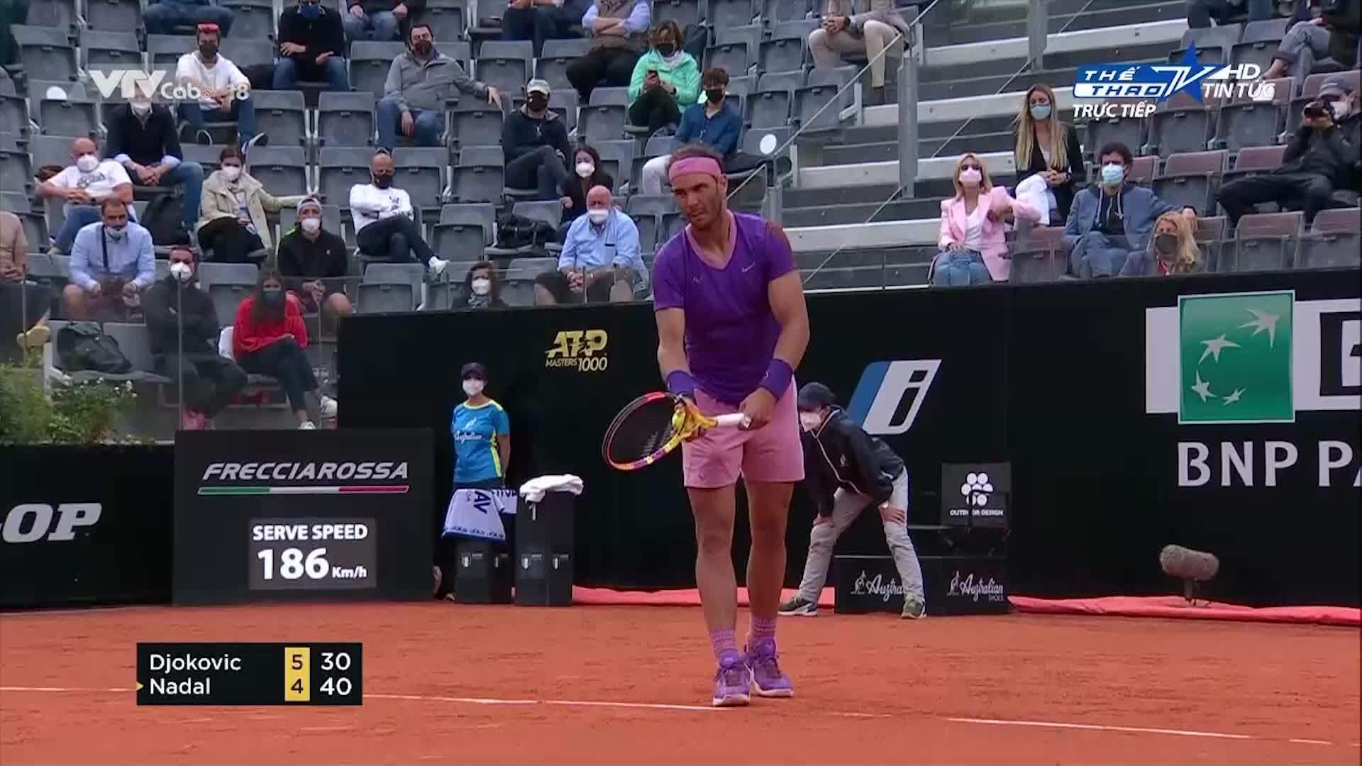 Djokovic 2-1 Nadal