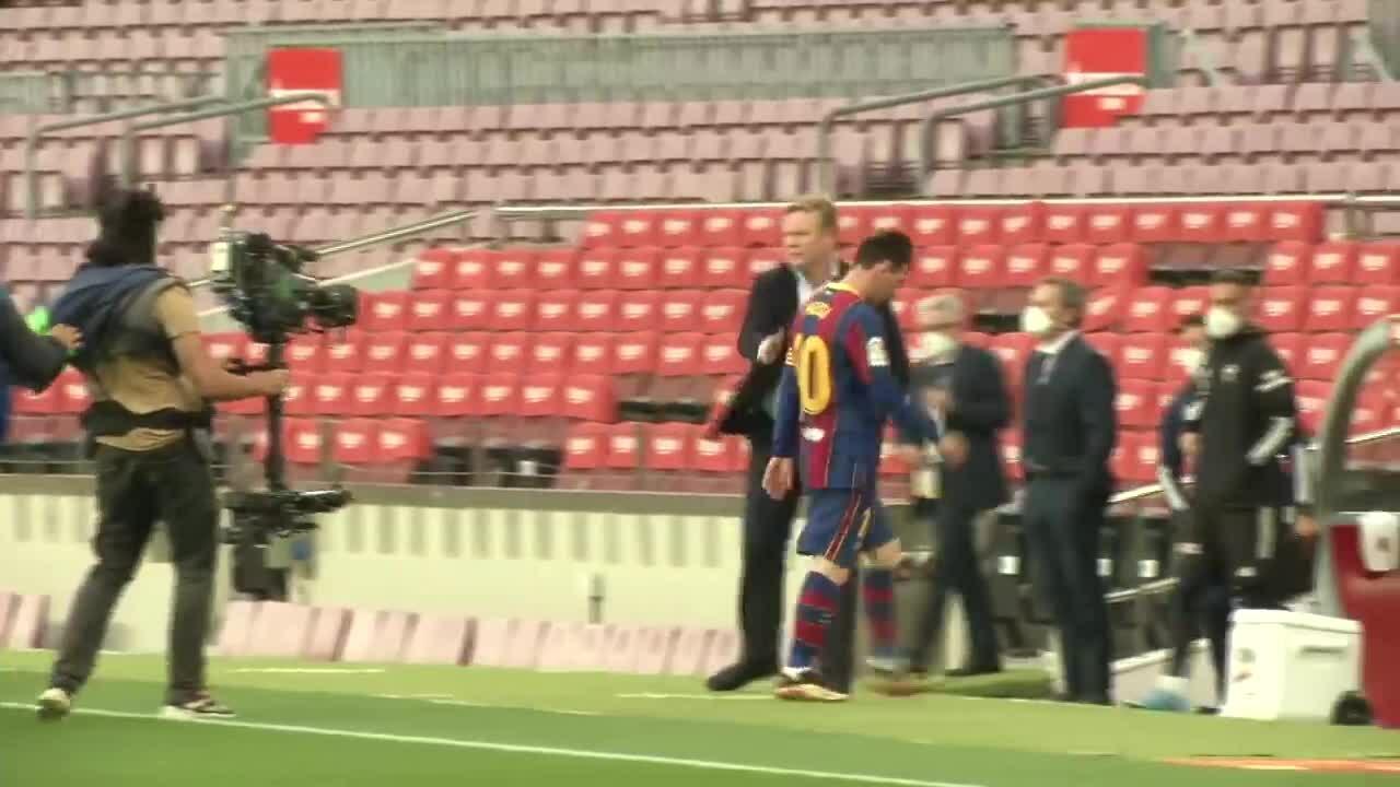 Messi mengabaikan Koeman