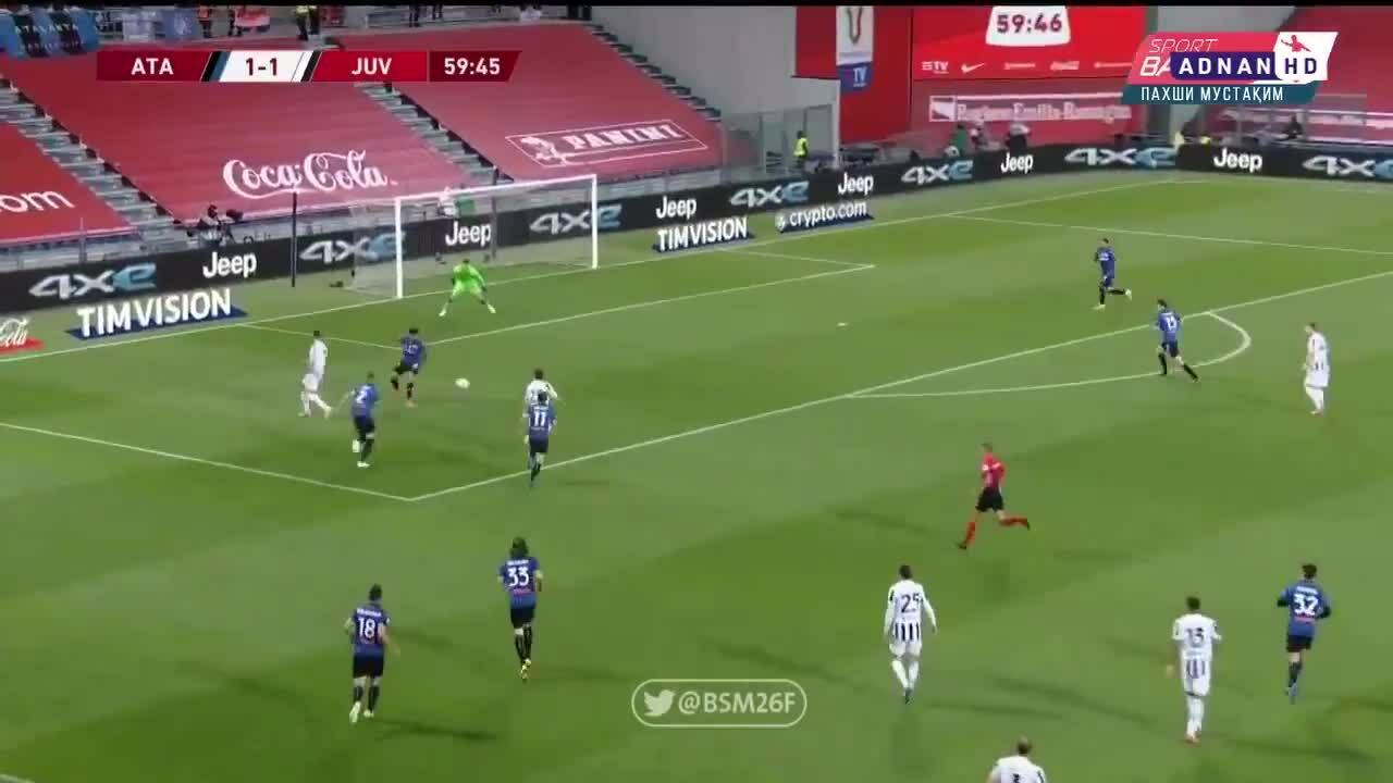 Ronaldo đánh gót kiến tạo cho Chiesa