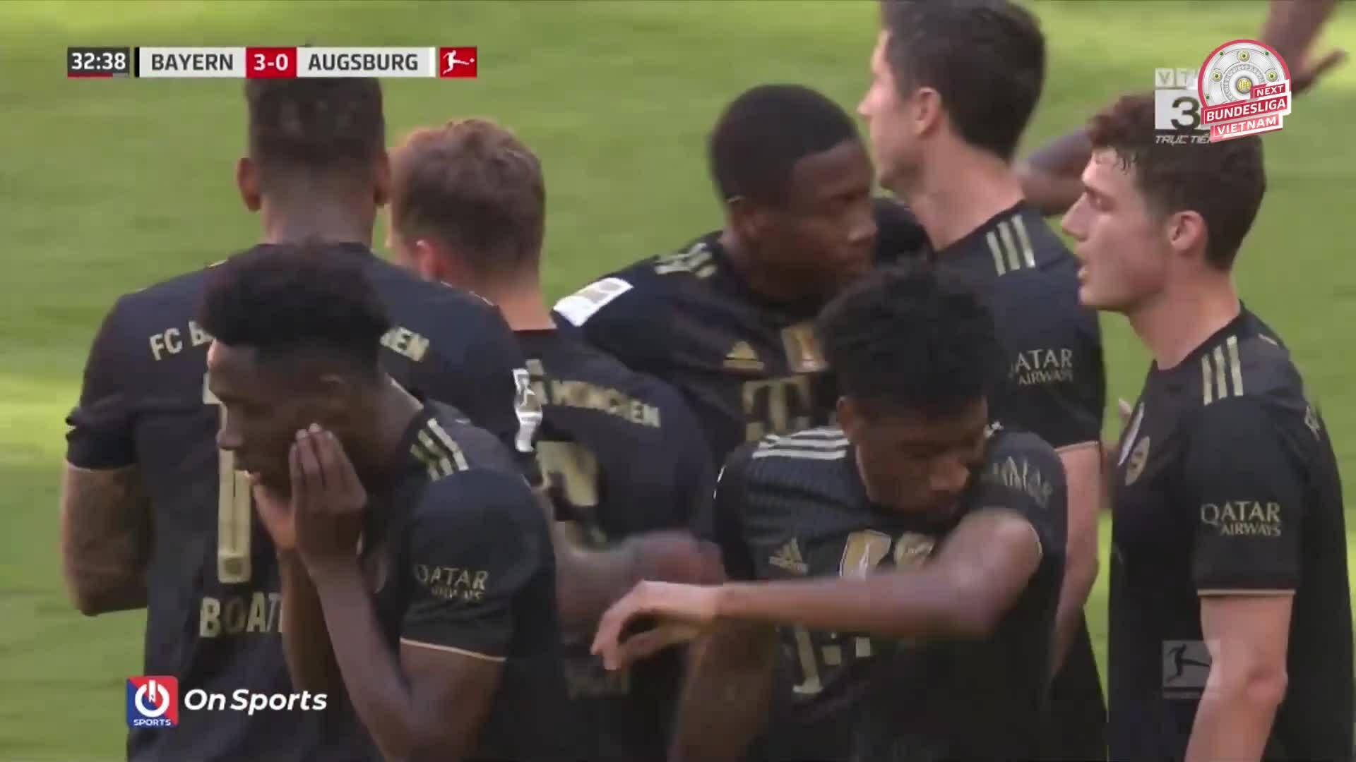 Bayern 5-2 Augsburg