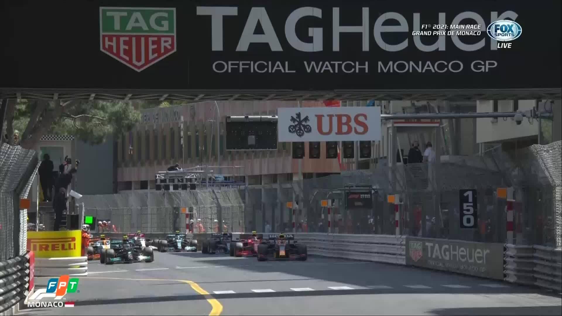 Max Verstappen về nhất tại Monaco GP 2021