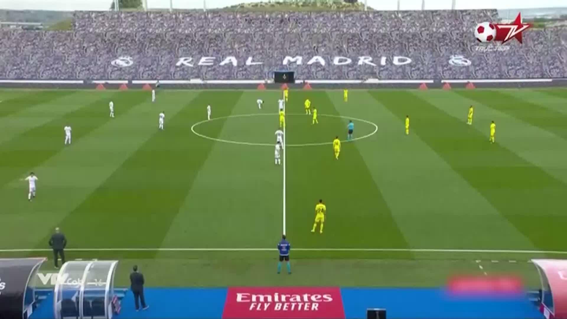 Real 2-1 Villarreal