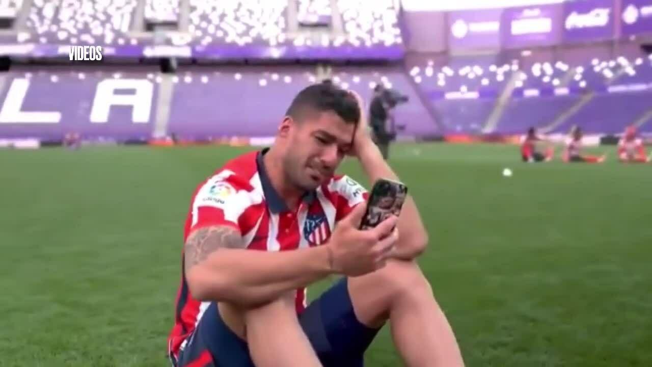 Suárezร้องไห้
