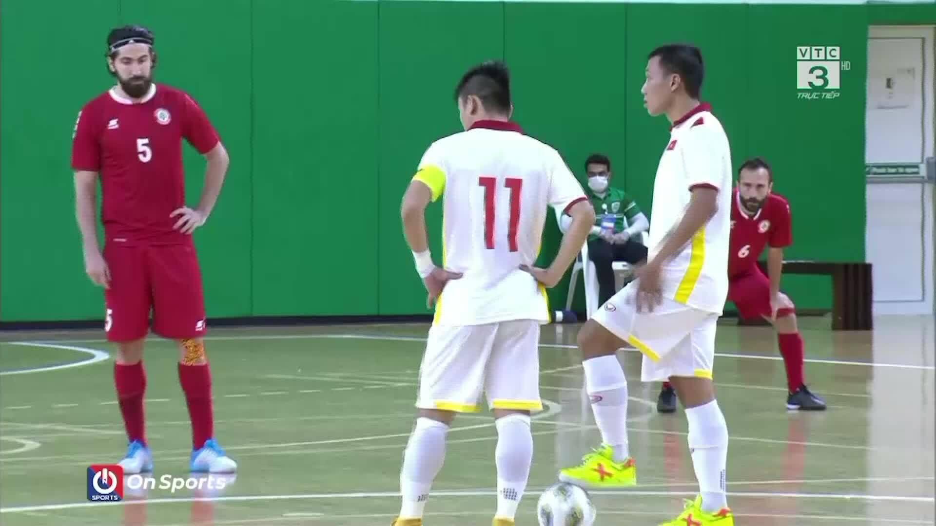 Lebanon 1-1 Việt Nam