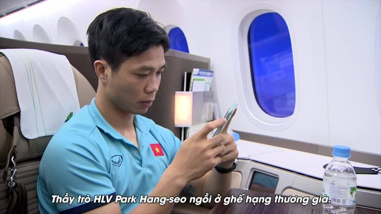 Đội tuyển Việt Nam có mặt ở UAE