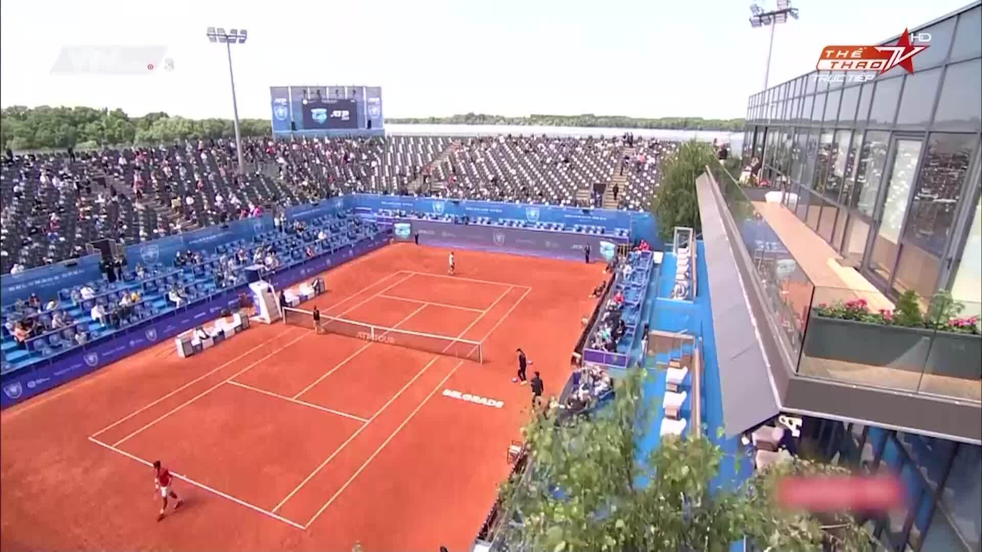 Djokovic 2-1 Martin