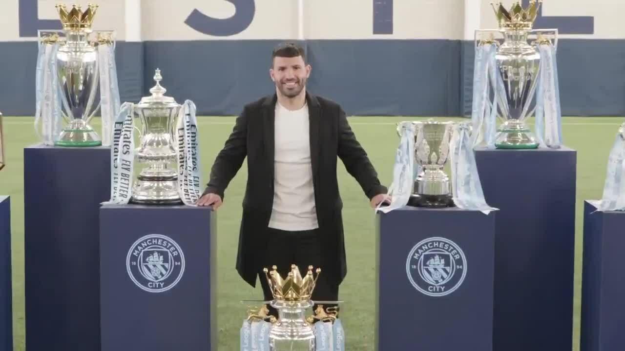 Man City berterima kasih kepada Aguero