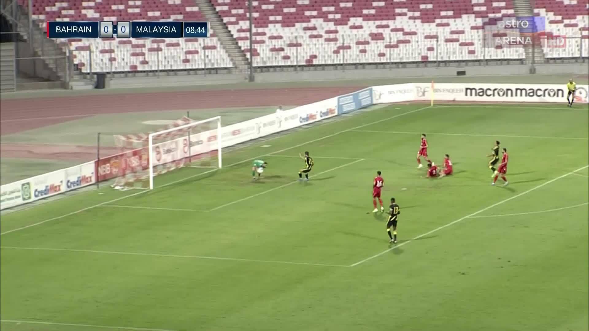 Malaysia 0-2 Bahrain