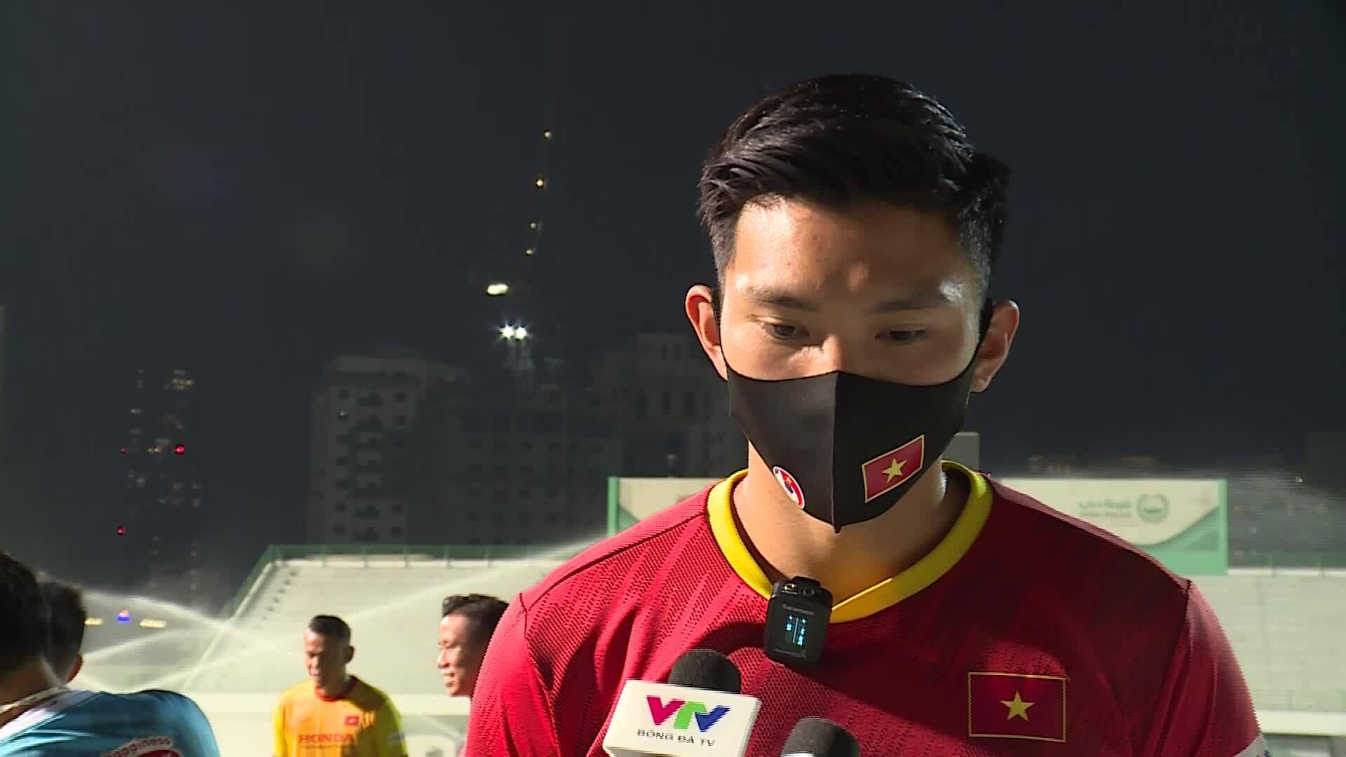 Doan Van Hau: 'Saya membalut lutut saya agar percaya diri'