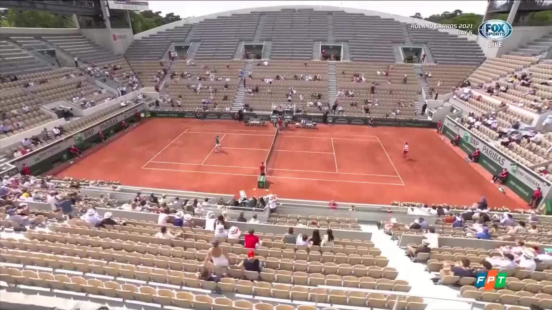 Djokovic 3-0 Cuevas