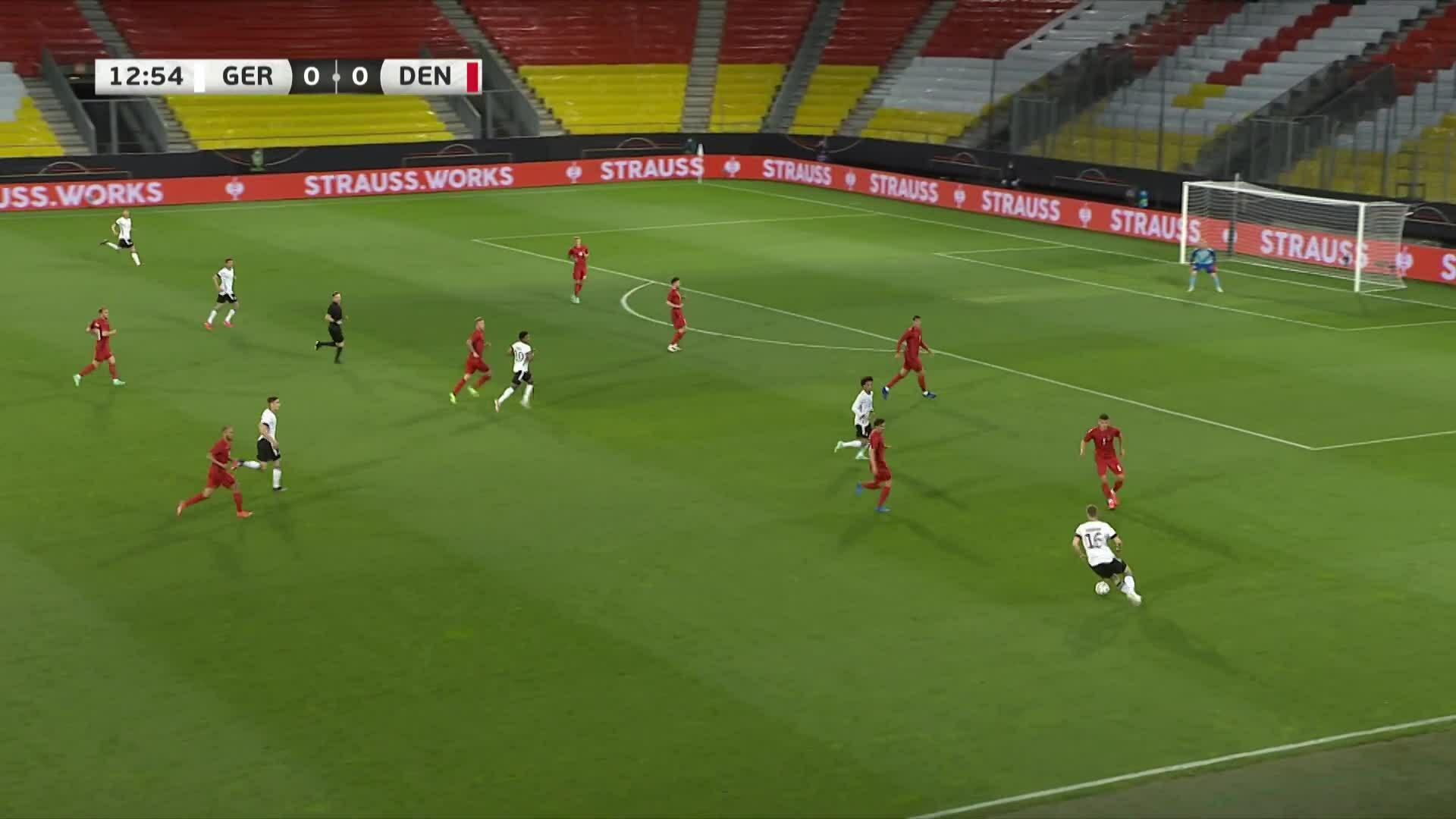 เยอรมัน 1-1 เดนมาร์ก