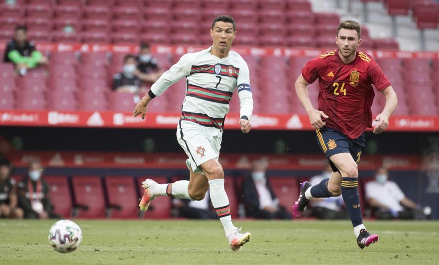 Sprint spektakuler Ronaldo