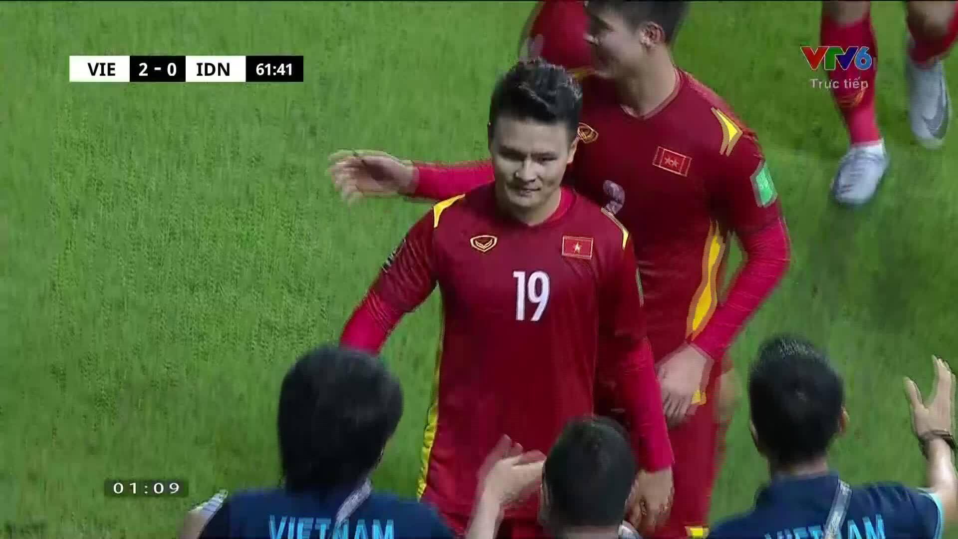 Bốn bàn thắng của tuyển Việt Nam vào lưới Indonesia
