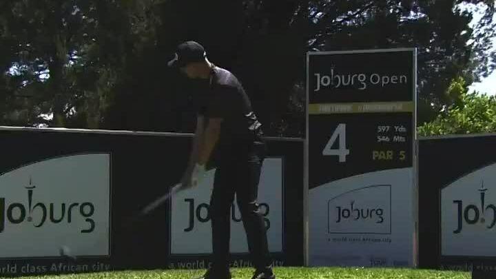 Nienaber hit 439 yards at Joburg Open in November 2020
