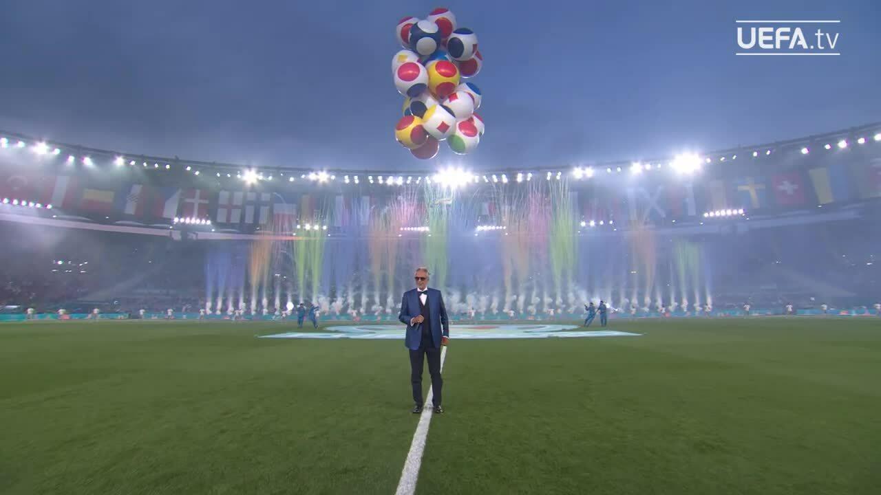 Bocelli hát Nessun Dorma trong lễ khai mạc Euro 2021