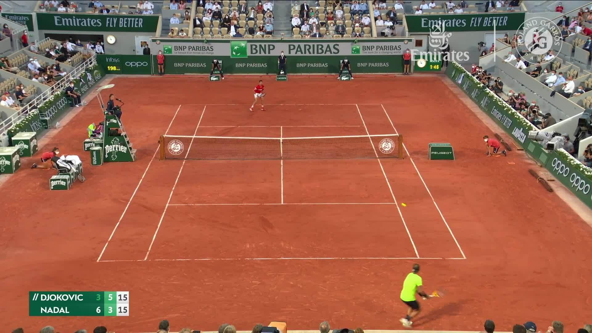 Nadal 1-3 Djokovic