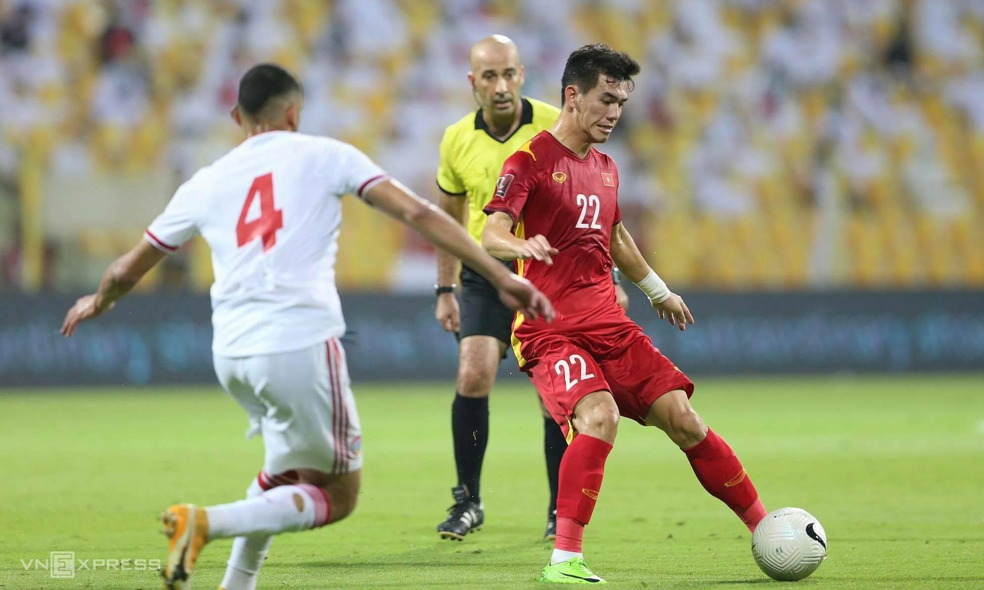 Gol tim Vietnam di Kualifikasi Piala Dunia 2022